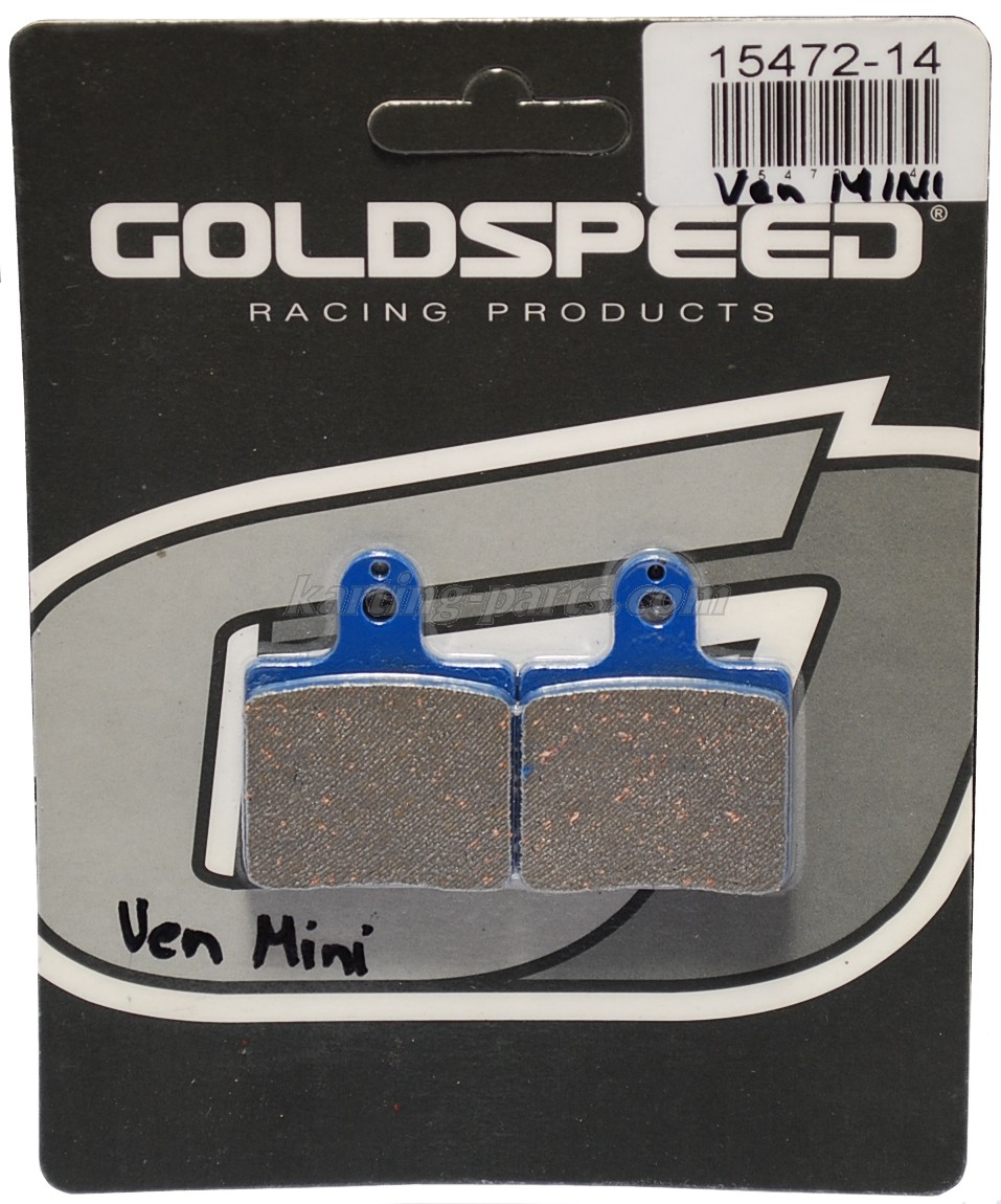VenMini Brake pads GOLDSPEED Maranello , Crg