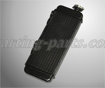 Radiator black ROTAX MAX (295920)