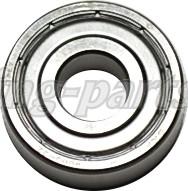 6000-2Z-SKF Bearing RS7--> stub axle Ø10X26X8