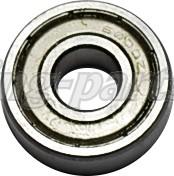 6000-2Z Bearing RS7--> stub axle Ø10X26X8