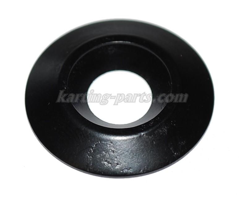 Washer conical 8x30mm alu black
