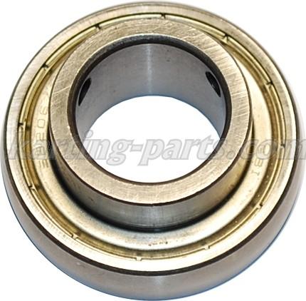 Ø30mm Axle bearing SB206ZZC4 62mm 2xM6x0.75 lock bolt