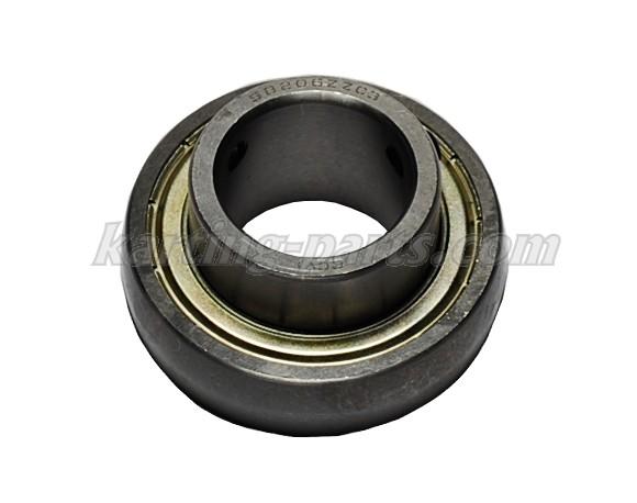 Ø30mm Axle bearing SB206ZZC3 62mm 2xM6x0.75 lock bolt