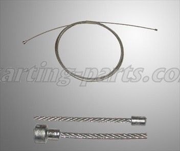 Cable throttle 2 nipples  2,5m (KF3)