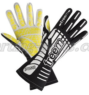 Freem Spider black kart gloves