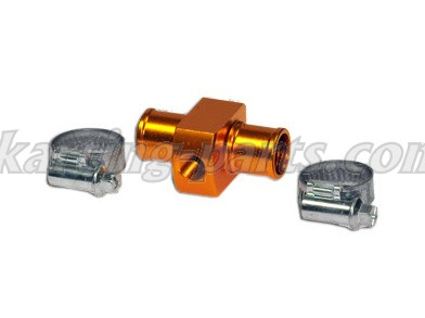 Alfano T-unit for water pipe, 17mm M10x1