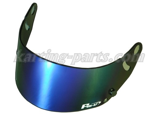 FMV blue iridium visor dark (suits GP-5 GP-5S SK-5)