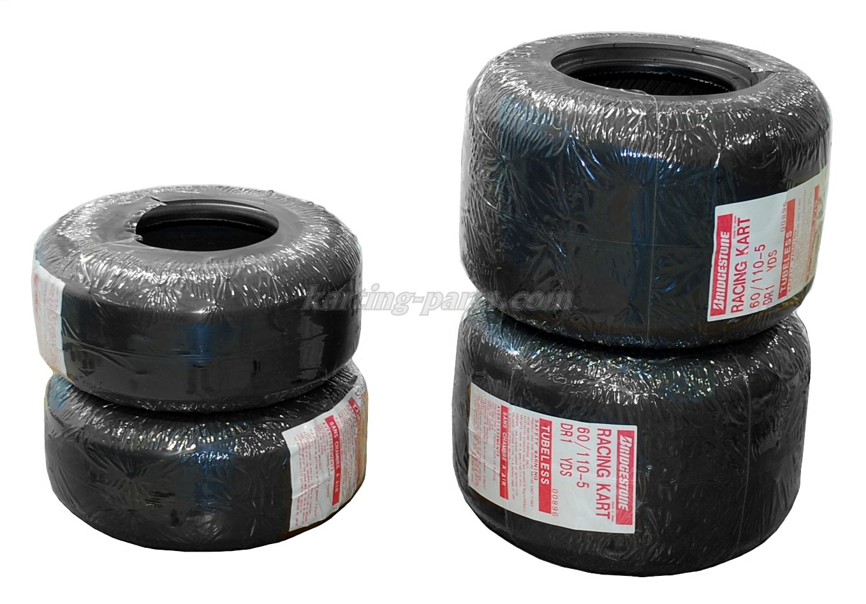 Bridgestone YDS Tyres set Raket+Mini