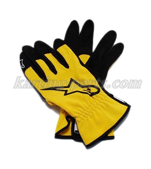 Alpinestars mechanic gloves yellow size S