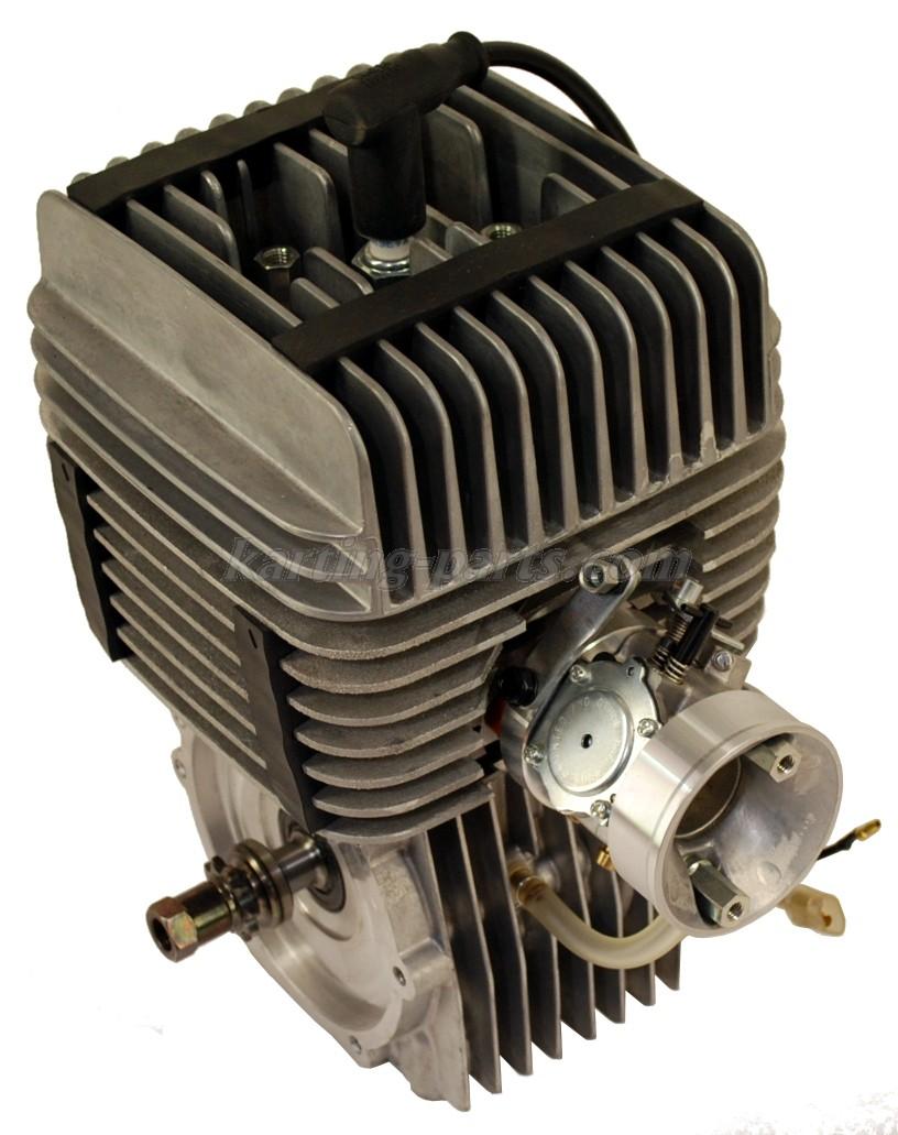 Yamaha KT 100 engine without silencer
