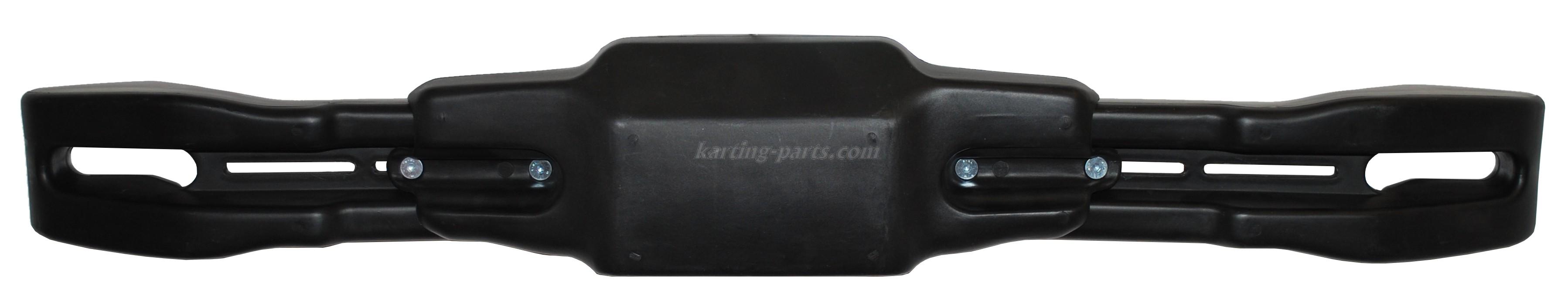 Rear spoiler KG adjustable black. 99,5-117,5 cm