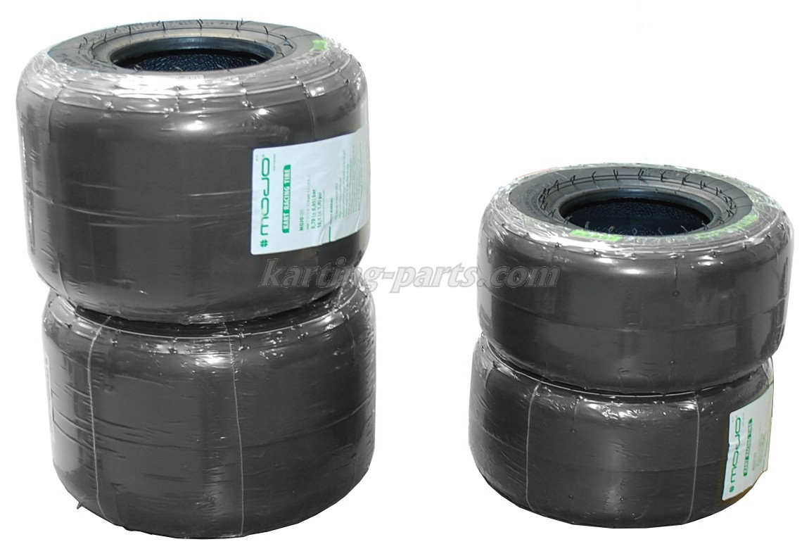 Mojo D2 slicks tyre set Rotax max