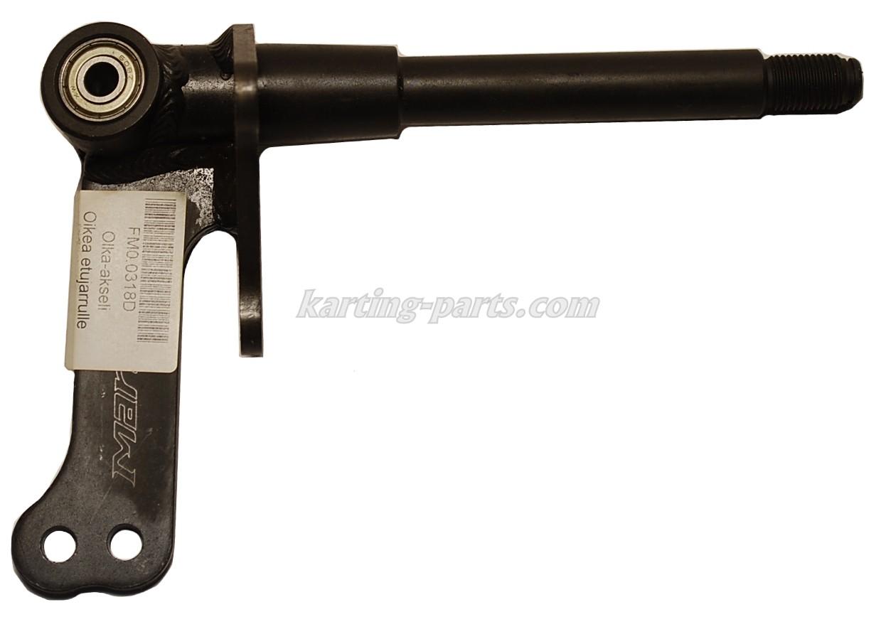 Stub axle right Ø17mm to front brake  (100cc)