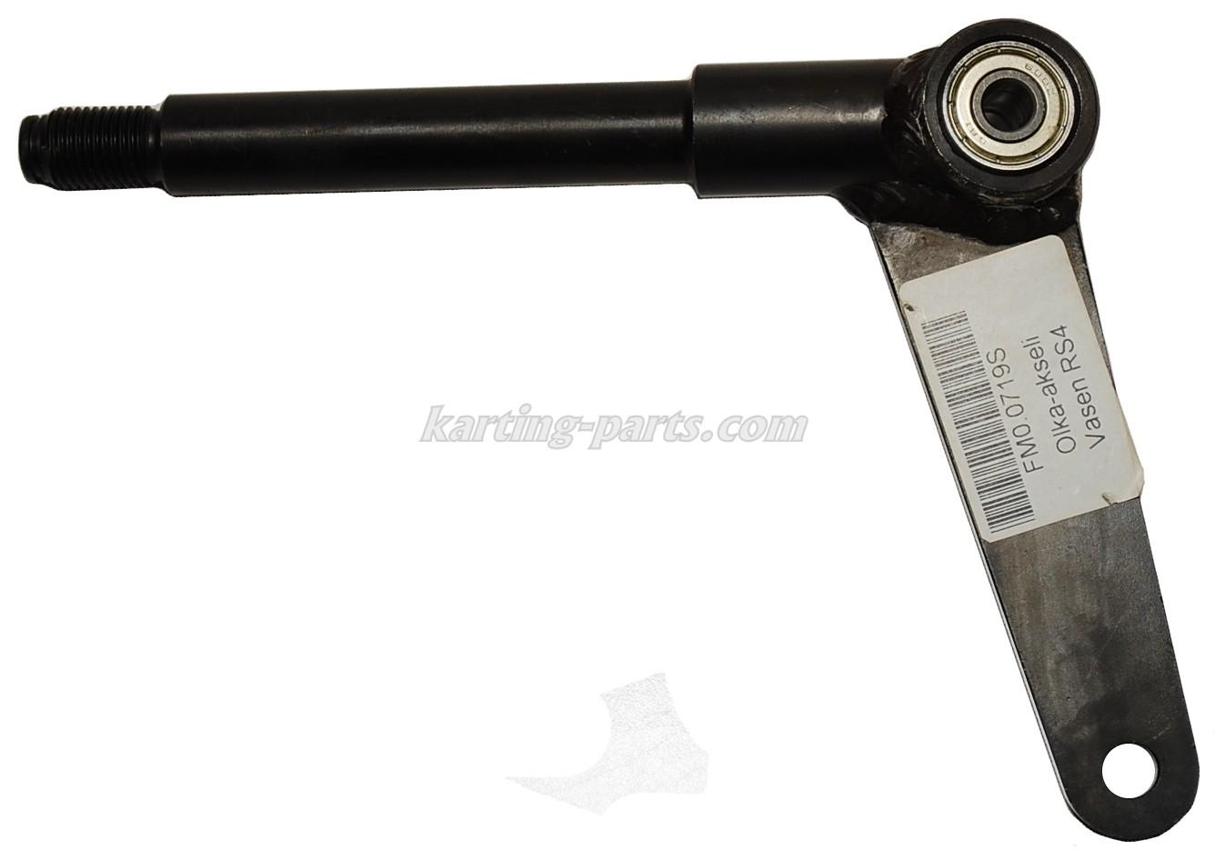 Stub axle left Ø17mm Maranello RS4