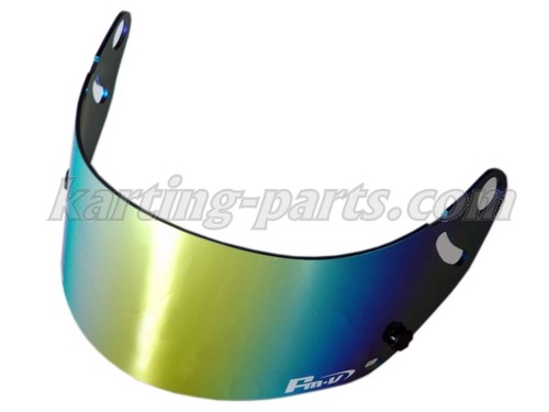 FMV gold iridium visor dark (suits GP-6 GP-6S SK-6)