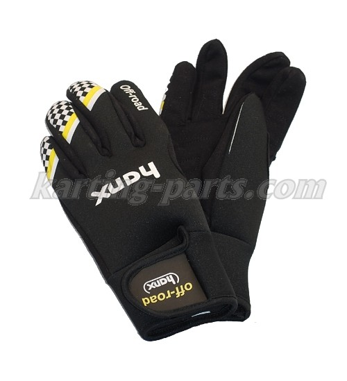Hanx neopren rain gloves black