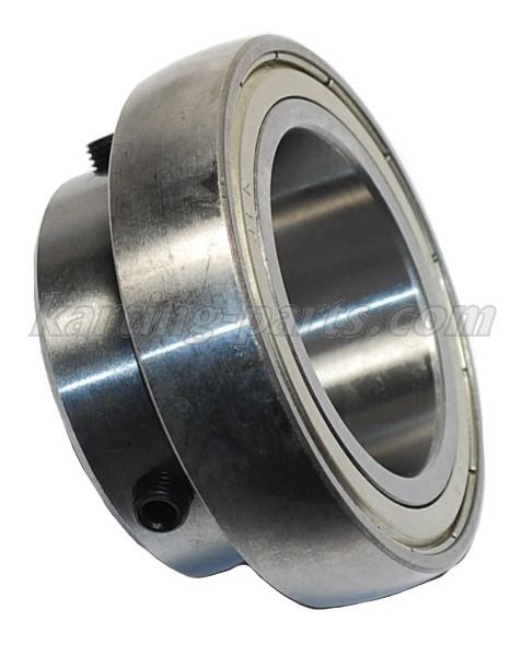 Ø50mm Rear axle bearing SB208/50ZZC4 80mm 2xM8x1 lock bolt