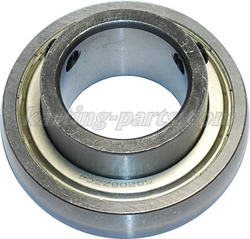 Ø40mm Rear axle bearing SB208ZZC4 80mm 2xM8x1 lock bolt
