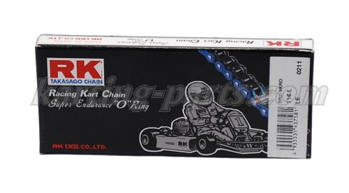 RK 219 karting O-ring chain