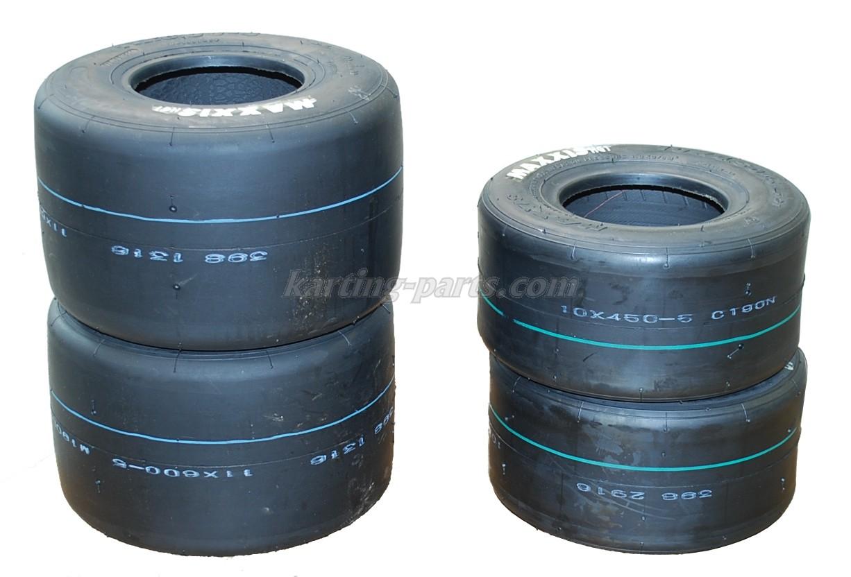 Maxxis HG1 slicks tyre set KF6