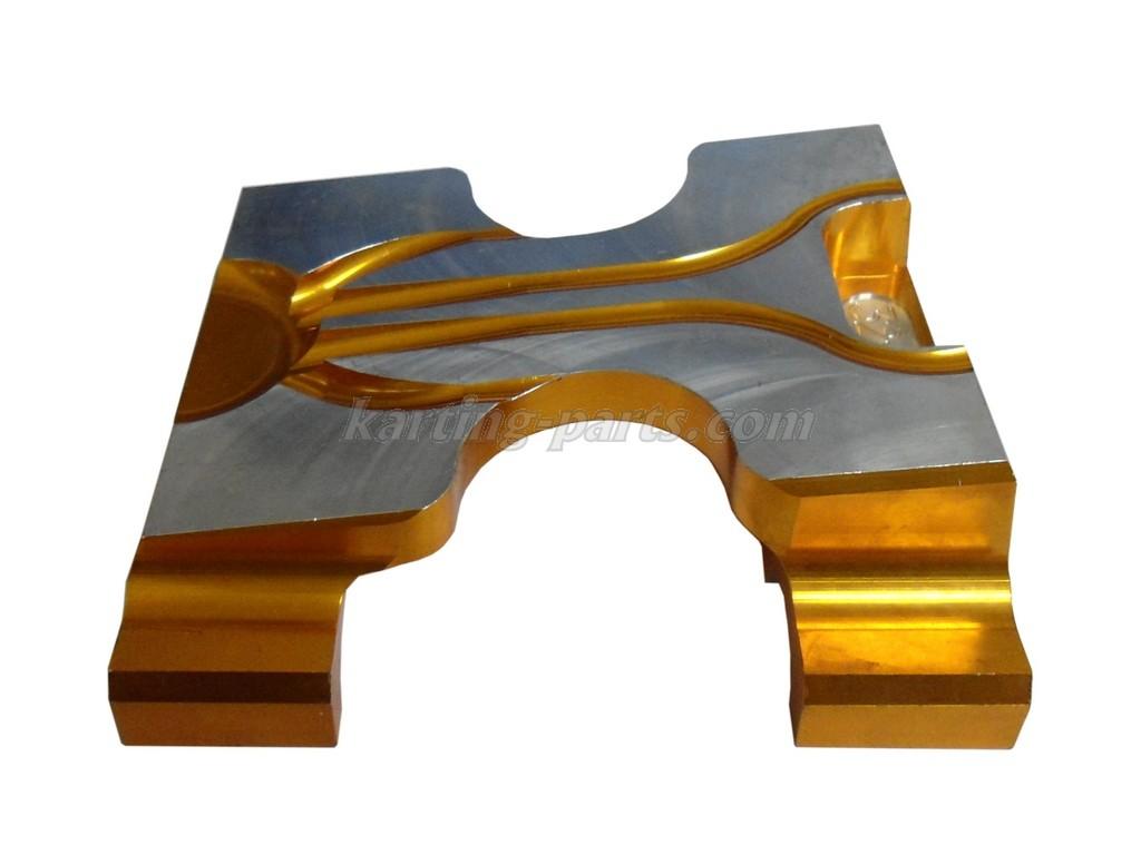 Engine mount 32x92 Gold undrilled
