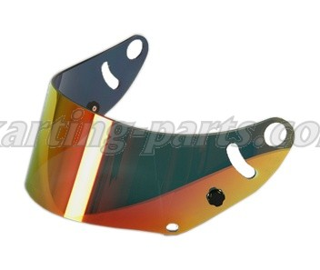 Arai visor mirrorized gold/red SK-6/GP-6