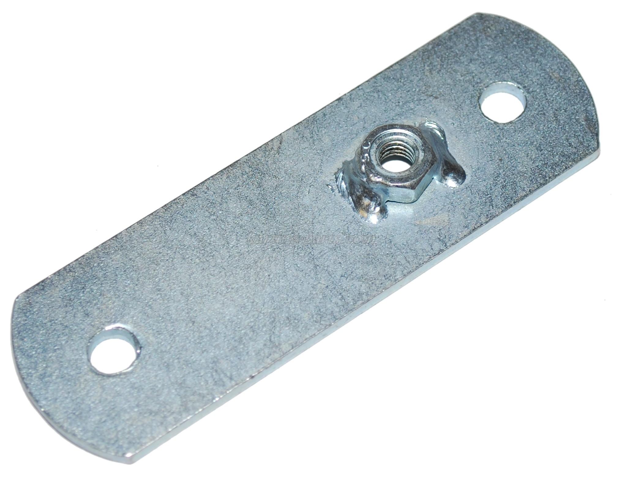Rear fairing plate