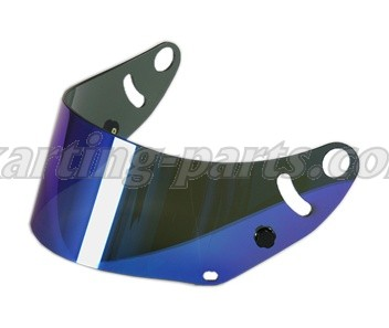 Arai visor mirrorized blue CK-6