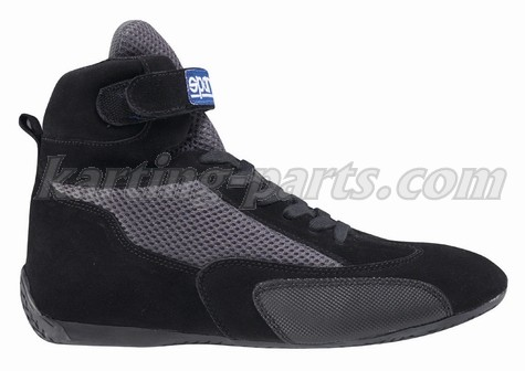 Sparco karting shoes black