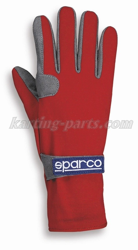 Sparco gloves red