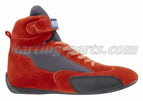 Sparco karting shoes red