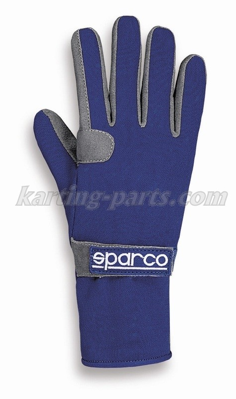 Sparco gloves blue