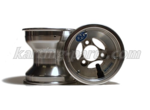 Front wheel 130mm Alu , with security bolt, (for Ø40mm front hub) price/pz