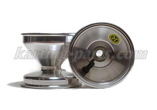 Front wheel 125mm Alu (Ø17mm bearing), Price / piece