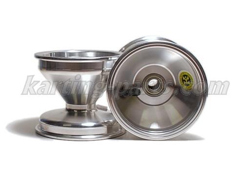 Front wheel 115mm Alu (Ø17mm bearing), Price / piece