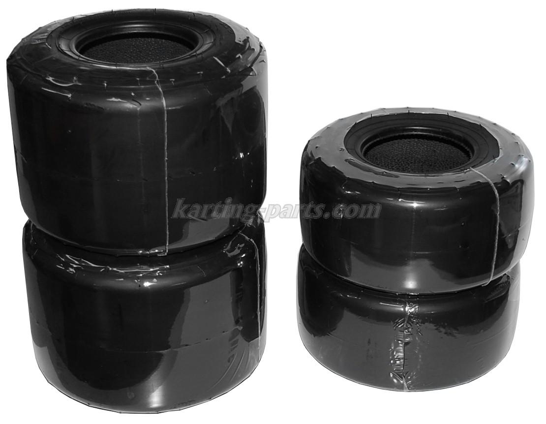 Vega SL8 tyre set with bar code