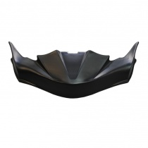 Front spoiler FP7 Mad-Croc Karting MC-01 black