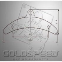 Birel Brake pads GOLDSPEED (14182)