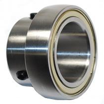 Ø50mm Axle bearing SB210ZZC3 80mm 2xM8x1 lock bolt