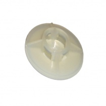 Self adhesive round nylon base for cable ties Ø28mm 10pcs