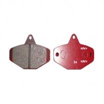 Brake pads Ven08 red, Homologated, Maranello, CRG