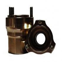 Front wheel hub magnesium Ø25mm/ 76mm (hub Ø55mm), NB. price/pz