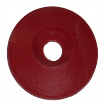 Washer conical 8x30mm plastic red