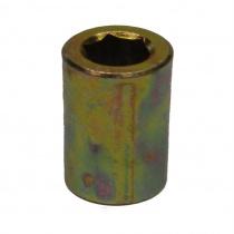 Cylindrical nut M8 DIAM.15mm, h.30mm (STEEL)