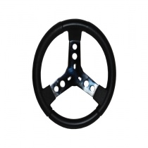 Steering wheel black Ø300mm Polyurethane Grip