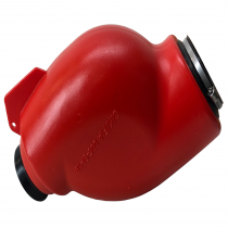 Intace silencer Alien red. Cik/Fia homologation.