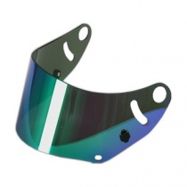 Arai visor mirrorized green SK-6/GP-6