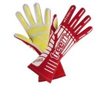 Freem Spider red karting gloves size 7