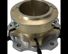 Complete Floating rear brake disc hub 180,5 mm
