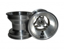 Set Front Wheels 115mm Alu  (with Ø17mm bearings)